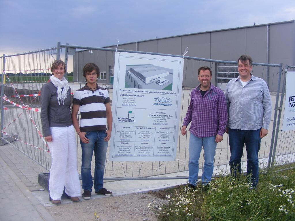 Gruppe Grüne/Freie Wähler/Piraten – Ratsmitglieder besuchen das Unternehmen DOG Deutsche Ölfabrik in Hamburg