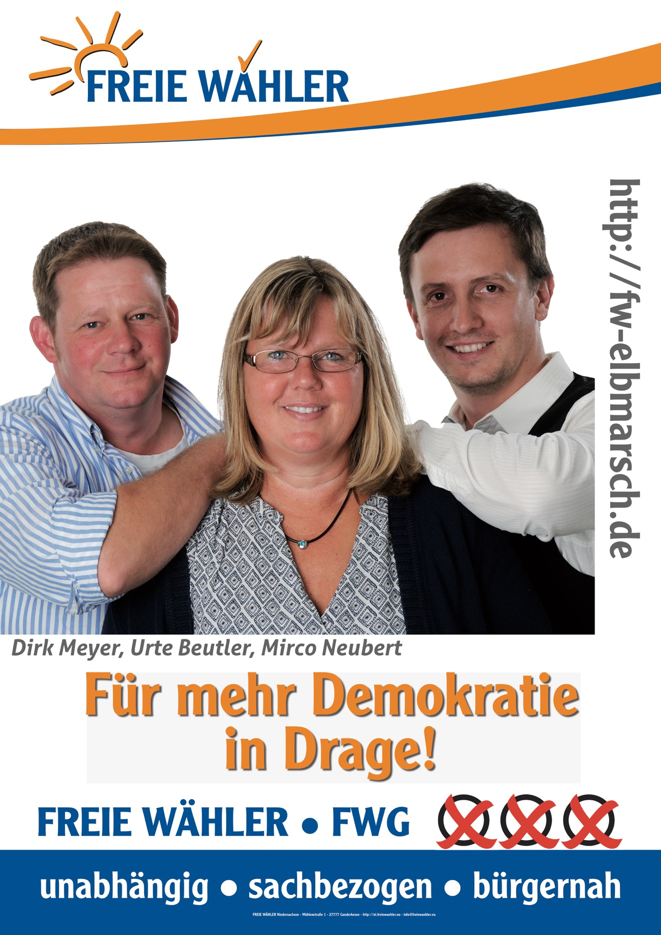 Dirk Meyer, Urte Beutler, Mirco Neubert